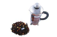 τσάι δοχείων μίγματος Στοκ Φωτογραφία