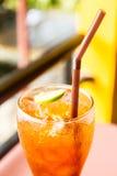 Τσάι λεμονιών πάγου Στοκ Φωτογραφίες