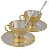 τσάι ζευγαριού Στοκ φωτογραφία με δικαίωμα ελεύθερης χρήσης