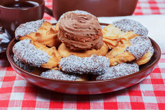 τσάι κέικ Στοκ εικόνες με δικαίωμα ελεύθερης χρήσης
