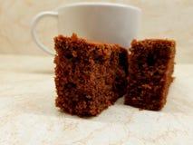 Τσάι και επιδόρπια στοκ εικόνα με δικαίωμα ελεύθερης χρήσης
