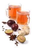 τσάι καρυκευμάτων δαμάσκ&e στοκ εικόνα