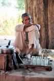 τσάι καταστημάτων ακρών το&upsil στοκ φωτογραφίες με δικαίωμα ελεύθερης χρήσης
