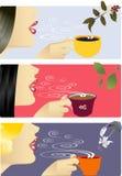 τσάι καφέ σοκολάτας ελεύθερη απεικόνιση δικαιώματος