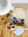 τσάι καφέ Στοκ Εικόνες