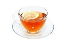 τσάι λεμονιών φλυτζανιών Στοκ Φωτογραφίες