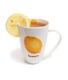 τσάι λεμονιών φλυτζανιών στοκ φωτογραφία με δικαίωμα ελεύθερης χρήσης