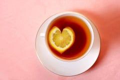 τσάι λεμονιών στοκ εικόνα με δικαίωμα ελεύθερης χρήσης