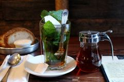 τσάι μεντών Στοκ Φωτογραφίες