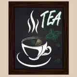 Τσάι με τη μέντα και το λεμόνι Στοκ Εικόνες