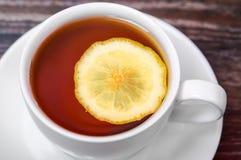 Τσάι με το λεμόνι Στοκ εικόνες με δικαίωμα ελεύθερης χρήσης