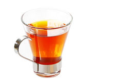 τσάι μονοπατιών φλυτζανιών Στοκ Φωτογραφίες
