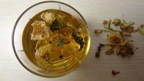 Τσάι μπισκότων που ψήνει το φρέσκο πρόγευμα στοκ φωτογραφία με δικαίωμα ελεύθερης χρήσης