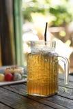 Τσάι πάγου της Apple στοκ φωτογραφίες με δικαίωμα ελεύθερης χρήσης