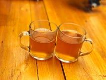 Τσάι πιπεροριζών λεμονιών μελιού Στοκ Φωτογραφία