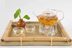 Τσάι που κάνει καθορισμένο Στοκ Φωτογραφίες