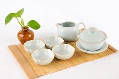 Τσάι που κάνει καθορισμένο Στοκ Εικόνα