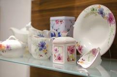 Τσάι που τίθεται σε ένα κατάστημα Στοκ φωτογραφίες με δικαίωμα ελεύθερης χρήσης