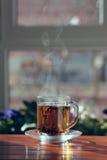 τσάι πρωινού φλυτζανιών Στοκ Εικόνα