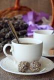 τσάι σε ένα άσπρο φλυτζάνι Στοκ φωτογραφίες με δικαίωμα ελεύθερης χρήσης