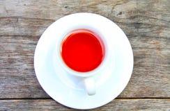 Τσάι στον πίνακα Στοκ Εικόνες