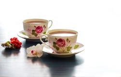 Τσάι στο μπαμπού Στοκ Εικόνα