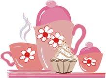 τσάι συμβαλλόμενων μερών Στοκ εικόνα με δικαίωμα ελεύθερης χρήσης