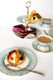 τσάι συμβαλλόμενων μερών Στοκ εικόνες με δικαίωμα ελεύθερης χρήσης
