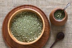 Τσάι συντρόφων Yerba Στοκ εικόνα με δικαίωμα ελεύθερης χρήσης