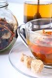 τσάι σύνθεσης χρυσάνθεμω&nu Στοκ Εικόνες
