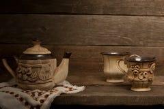 Τσάι-σύνολο Στοκ Εικόνες