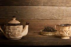 Τσάι-σύνολο Στοκ φωτογραφίες με δικαίωμα ελεύθερης χρήσης