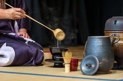 Τσάι-τελετή Στοκ Φωτογραφίες