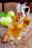 Τσάι της Apple (μηλίτης) Στοκ εικόνα με δικαίωμα ελεύθερης χρήσης