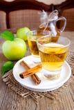 Τσάι της Apple (μηλίτης) Στοκ φωτογραφίες με δικαίωμα ελεύθερης χρήσης