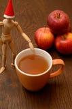 Τσάι της Apple Στοκ Φωτογραφίες