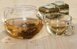 Τσάι της Jasmine. Στοκ φωτογραφία με δικαίωμα ελεύθερης χρήσης