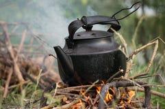 Τσάι υπαίθρια Στοκ εικόνα με δικαίωμα ελεύθερης χρήσης