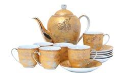 τσάι υπηρεσιών Στοκ Εικόνες