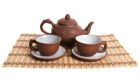 τσάι υπηρεσιών Στοκ φωτογραφία με δικαίωμα ελεύθερης χρήσης