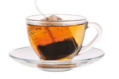 τσάι φλυτζανιών τσαντών Στοκ εικόνα με δικαίωμα ελεύθερης χρήσης