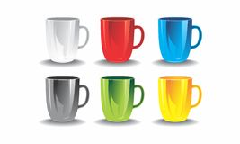 τσάι φλυτζανιών καφέ Στοκ Εικόνες