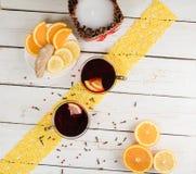τσάι φλυτζανιών Στοκ εικόνες με δικαίωμα ελεύθερης χρήσης