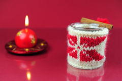 τσάι Χριστουγέννων στοκ εικόνες