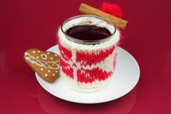τσάι Χριστουγέννων στοκ φωτογραφία