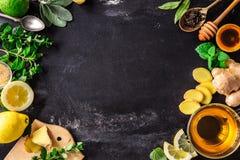 Τσάι Gnger στοκ εικόνες