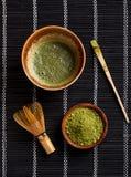 Τσάι Matcha Στοκ φωτογραφίες με δικαίωμα ελεύθερης χρήσης