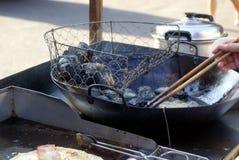 Τσάνγκσα Κίνα: stinky tofu πρόχειρα φαγητά Στοκ Εικόνα