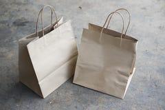 Τσάντα αγορών εγγράφου τεχνών στοκ εικόνα με δικαίωμα ελεύθερης χρήσης