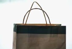 Τσάντα αγορών εγγράφου Στοκ Φωτογραφίες